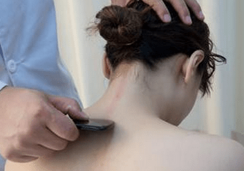 Gua sha therapy (Scraping)