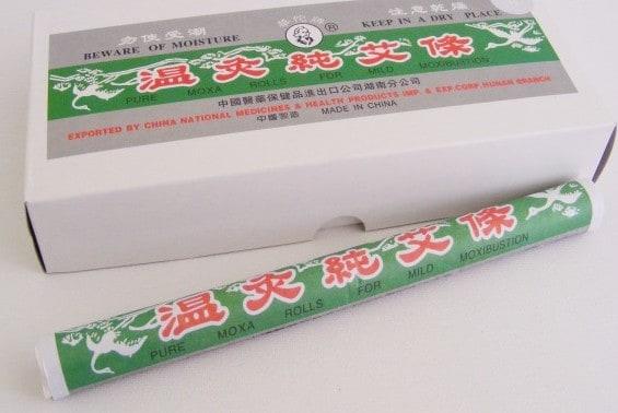 Moxibustion rolls