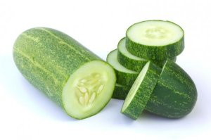 cucumber used for fluid retention